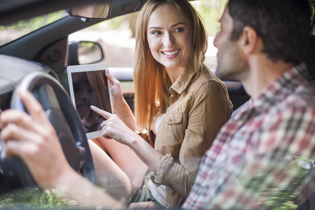Dial a Ride - couple